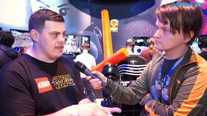 Lego Star Wars: The Force Awakens - Jamie Eden videohaastattelussa