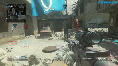 Call of Duty: Modern Warfare Remastered - Domination-pelikuvaa Crash-kartassa