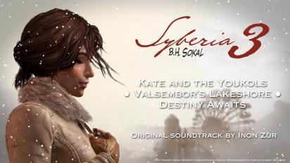 Syberia 3 - katsaus Inon Zurin ääniraitaan