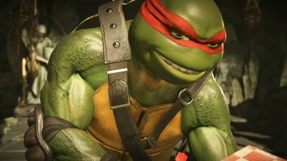 Injustice 2 - Teenage Mutant Ninja Turtles -traileri