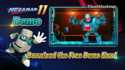 Mega Man 11 - Demo-traileri