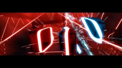 Beat Saber - PSVR -julkaisupäivän traileri