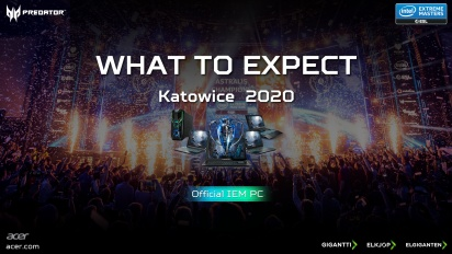 ACER & Gameraector Katowice VIP Tour 2020 - Video#2