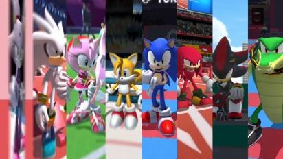 Sonic at the Olympic Games: Tokyo 2020 - julkaisutraileri
