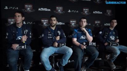 Call of Duty XP - Team EnVyUsin lehdistötilaisuus