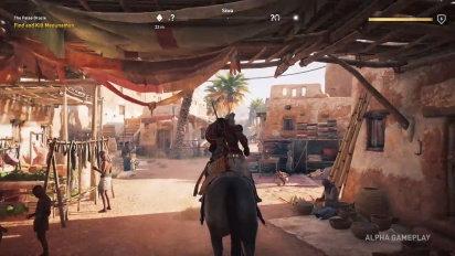 Assassin's Creed Origins - pelikuvaa E3 2017