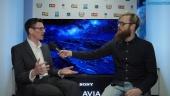 Sony XF90 & AF8 - Gavin McCarron haastattelussa