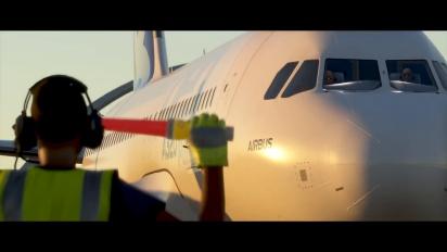 Microsoft Flight Simulator - julkaisutraileri