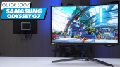 Nopea katsaus - Samsung Odyssey G7