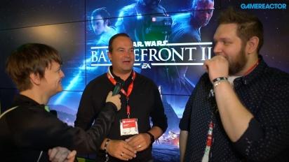 Star Wars Battlefront II - Matt Webster & John Stanley haastattelussa