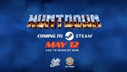 Huntdown - Steam Teaser 2021