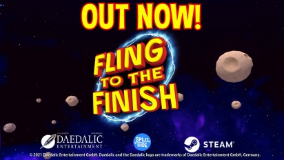 Fling to the Finish - Steam Early Access Traileri