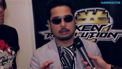 E3 13: Tekken Revolution - Katsuhiro Haradan haastattelu