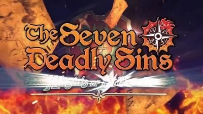 The Seven Deadly Sins: Knights of Britannia - julkaisua edeltävä traileri
