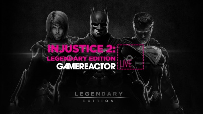 GR Liven uusinta: Injustice 2: Legendary Edition, 4K