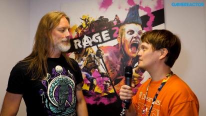 Rage 2 - Magnus Nedforsin E3-haastattelu