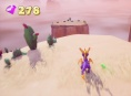 Spyro: Reignited Trilogy - Dry Canyon -pelikuvaa