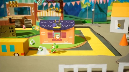 Yoshi's Crafted World - japanilainen overview-traileri
