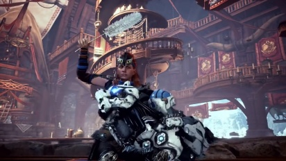 Monster Hunter World: Iceborne x Horizon Zero Dawn: The Frozen Wilds - New Gear Breakdown