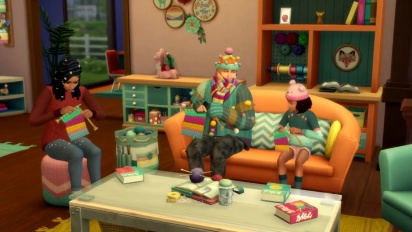 The Sims 4: Nifty Knitting Stuff Pack - virallinen traileri