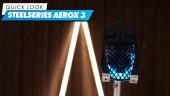 Nopea katsaus - SteelSeries Aerox 3 Wireless