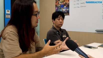Sonic Forces - Yoshitaka Miura & Tomoya Ohtani haastattelussa