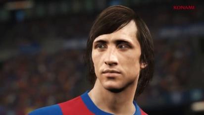 PES 2018 - Johan Cruyff -traileri
