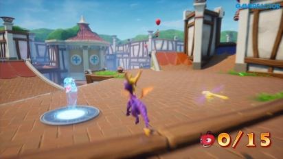 Spyro: Reignited Trilogy - Sunny Villa -pelikuvaa