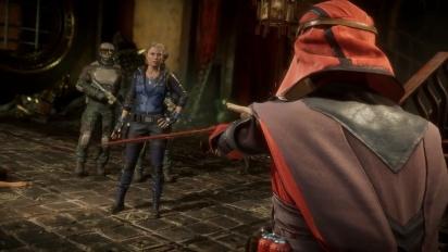 Mortal Kombat 11 - Sonya Blade -traileri