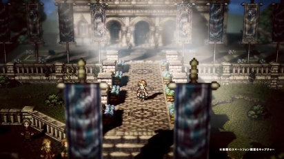 Octopath Traveler: Champions of the Continent - japanilainen traileri