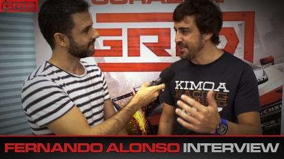 Grid - Fernando Alonso haastattelussa