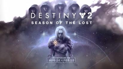 Destiny 2: Beyond Light - Season of the Lost Traileri