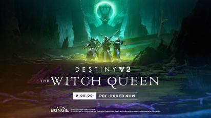 Destiny 2: The Witch Queen - Gameplay Traileri