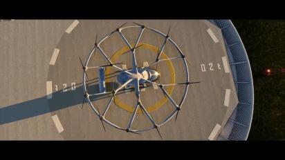 Microsoft Flight Simulator - Volocopter Traileri
