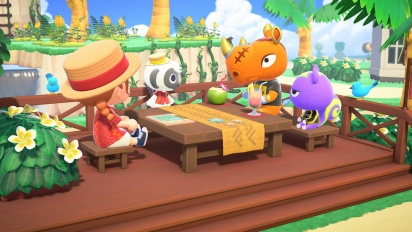 Animal Crossing: New Horizons - Happy Home Paradise DLC Traileri