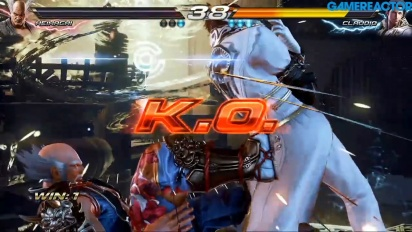 Tekken Tour - Comic-Con Sweden Finals - Livestriimin uusinta