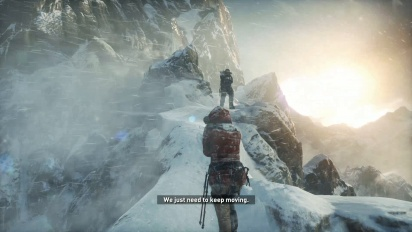 Rise of the Tomb Raider - Standard PS4 -pelikuvaa