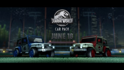 Rocket League - Jurassic World Car Pack -traileri