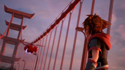 Kingdom Hearts III - Big Hero 6 -traileri