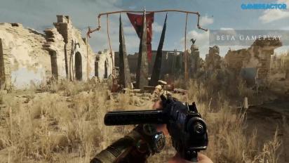 Metro Exodus - Sandy Desert -pelikuvaa