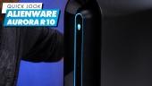 Nopea katsaus - Dell Alienware Aurora R10