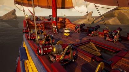 Sea of Thieves - Mayhem Ship Set Reveal Traileri