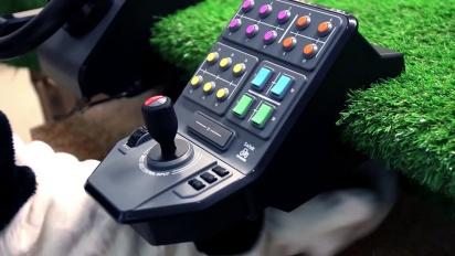 Farming Simulator 15 - Virallisen rattiohjaimen traileri