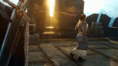 Shadow of Mordor - PS4 Pro -pelikuvaa