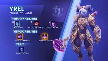 Heroes of the Storm - Yrel-traileri