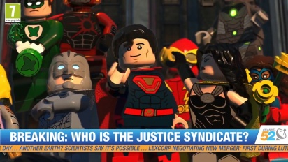 Lego DC Super-Villains - San Diego Comic-Con -traileri