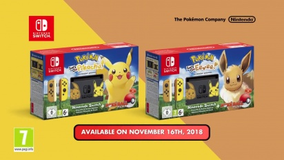 Nintendo Switch - Pikachu & Eevee Edition -traileri