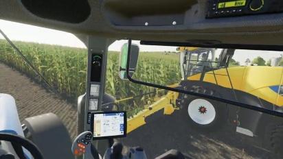 Farming Simulator 19 - Stadia-traileri