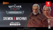 Daemon X Machina - The Witcher 3 Wild Hunt Collaboration -traileri