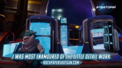 Spacebase Startopia - Release Date Reveal Traileri